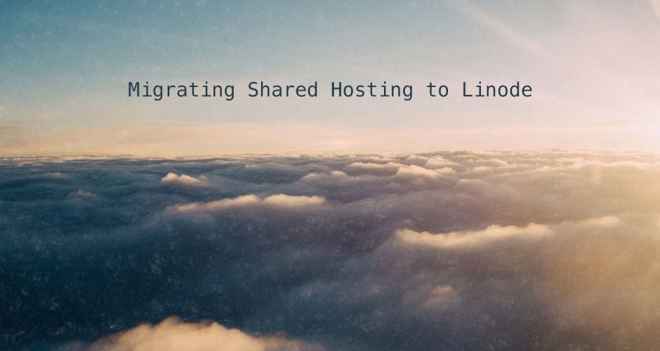 Migrating Wordpress to Linode • Zach Matthai
