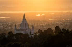 Oakland Temple - Sunset Spires